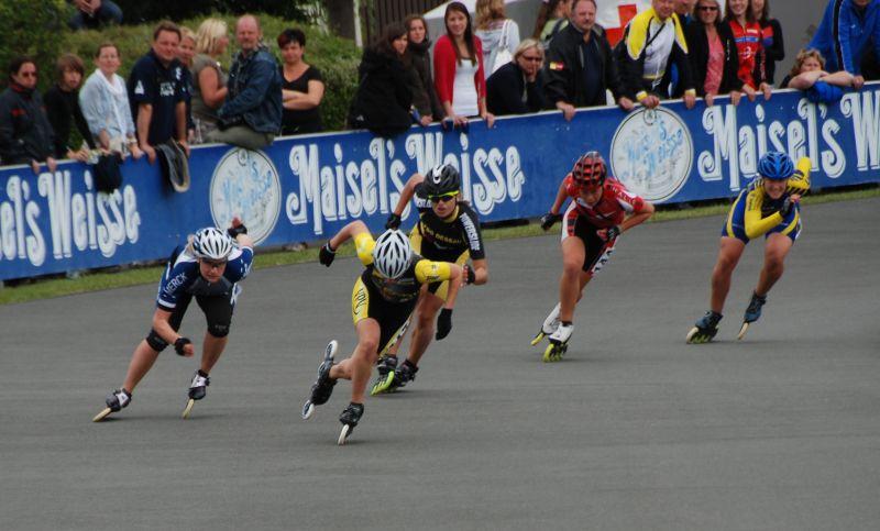 Tami im 500m Finale bei der DM 2011