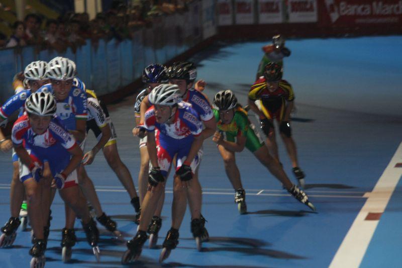 Tamara konnte am Ende den Speed der Italiener und Franzosen nicht mehr mitgehen