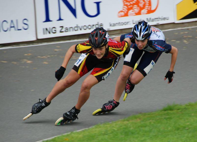 Tamara Felbinger beim Europacup in Zandvoorde 2011