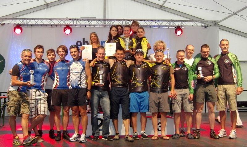 Siegerehrung beim BWIC-Finale in Niedernhall 2011