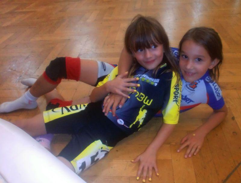 Die beiden Bestplatzierten des Loewen-Cups 2011