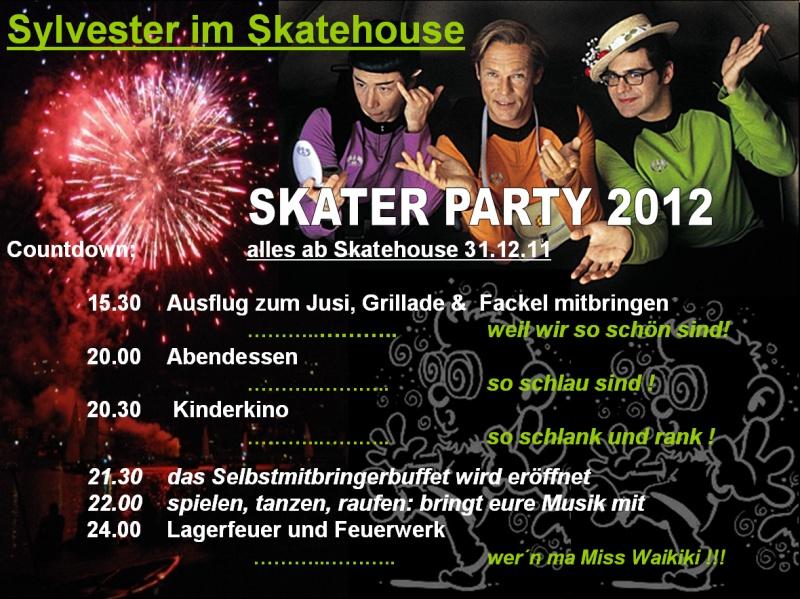 Sylvester im Skatehouse — SiS 2012
