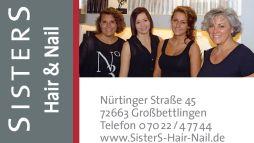 Sisters Hair and Nail ab 2016
