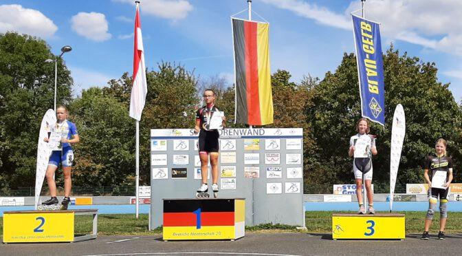 Deutsche Chrono-DM in Groß-Gerau: Mia Schwan trumpft auf